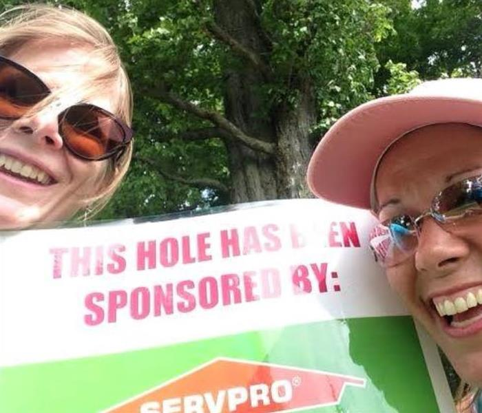 2015 SERVPRO Sponsors Cornerstone Women's Network Diamonds In the Rough Golf Tourney