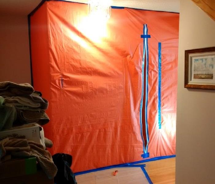 Mold Remediation Proper Containment Minimizes Spread of Contaminants
